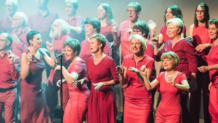 Die Vindonissa Singers im Kurtheater Baden.
