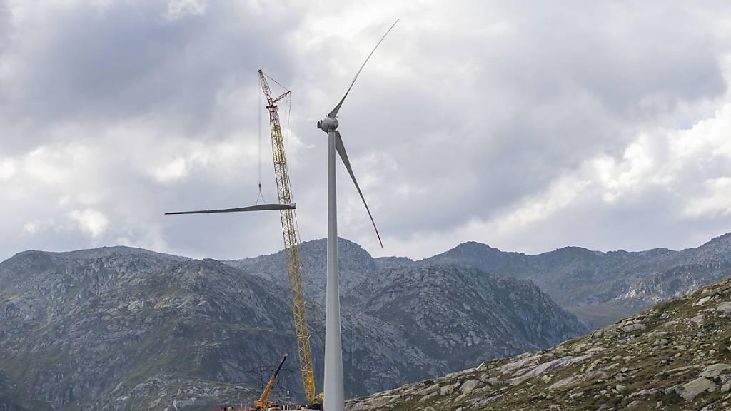 Der Nationalrat möchte den Ausbau der erneuerbaren Energien über das Jahr 2022 hinaus fördern. (Themenbild)