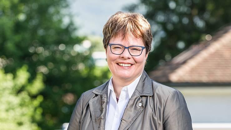 Marianne Wildi, CEO der Hypothekarbank (Hypi) Lenzburg.
