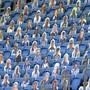 Karton-Fans brachten keine tolle Stimmung in den Match zwischen Brighton und Arsenal (1:1).