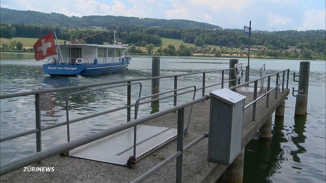 Greifensee: Tiefster Wasserstand seit 15 Jahren