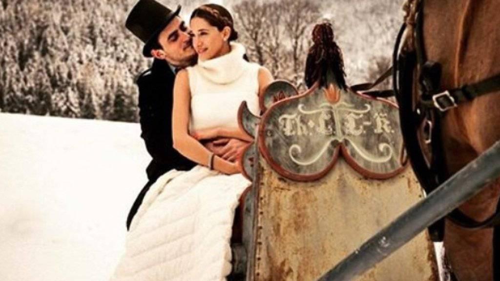 Ahmet Kayman und Bianca Gubser haben vier Tage vor ihrem Hochzeitsmarathon dieses Bild auf Instagram hochgeladen.