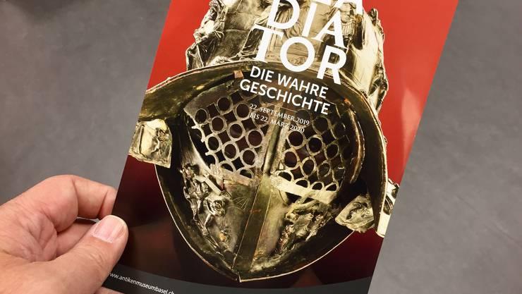 Verspricht, ein Knüller zu werden: Die grossen Gladiatoren-Ausstellung in diesem Herbst in Basel.