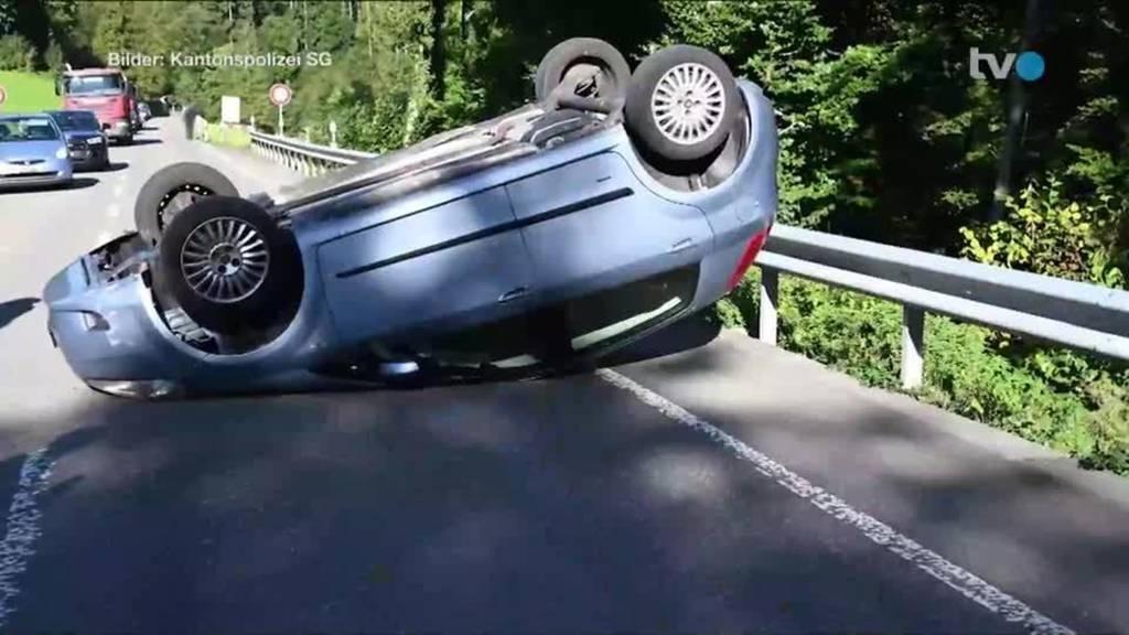 Unfälle: Aussergewöhnliche Szenen auf Ostschweizer Strassen