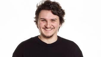 Simon Gomm kandidiert für die Junge SP Olten als Stadtrat.zvg