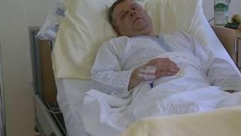 Menziker Gemeinderat Jürg Rubin liegt nach der Schlägerei im Spital