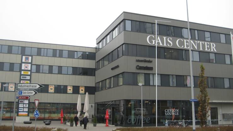 Das Gais Center liegt an der Industriestrasse in Aarau, 5 Minuten vom Bahnhof entfernt.
