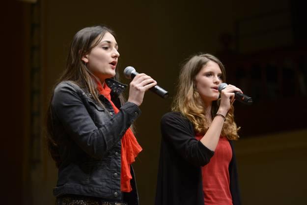 Singen vor Publikum macht Spass