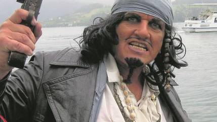 Piratenkapitän Salem alias Thomy Widmer.