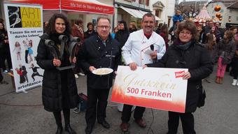 Der erste Preis sind ein Wanderpokal und ein 500.- Franken Gutschein.