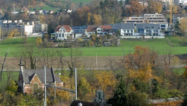 Der Beitrag an den neuen Sportplatz des FC Turgi in der Oberau ist noch nicht fällig geworden.