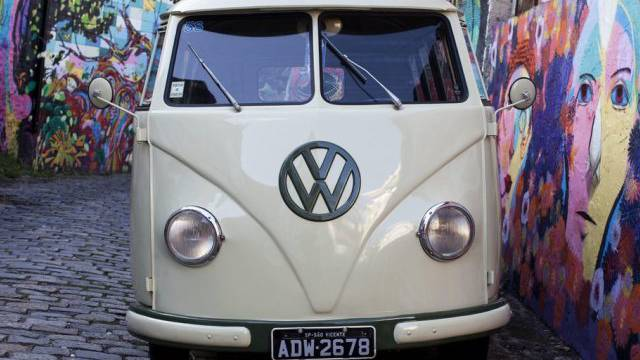 Das legendäre VW-Modell Hippie von 1958