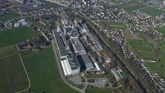 Das Papieri-Areal in Biberist gehört der Basler Hiag AG.