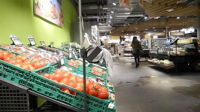 Rundgang durch den neuen Migros-Supermarkt an der Wengistrasse in Solothurn
