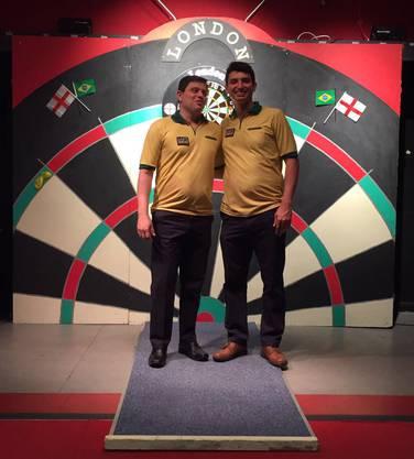 Die Brasilianer: Alexandre Sattin (links) und Diogo Portela.