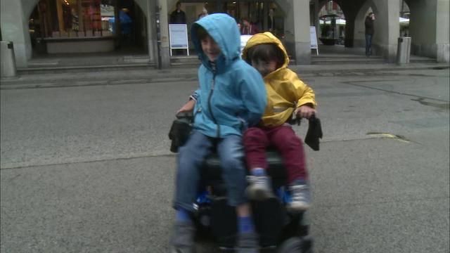 Paraplegiker-Stiftung wollte Passanten verwirren