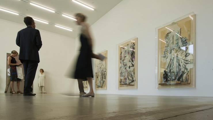 Das Aargauer Kunsthaus in Aarau wird durch den Swisslos-Fonds unterstützt.