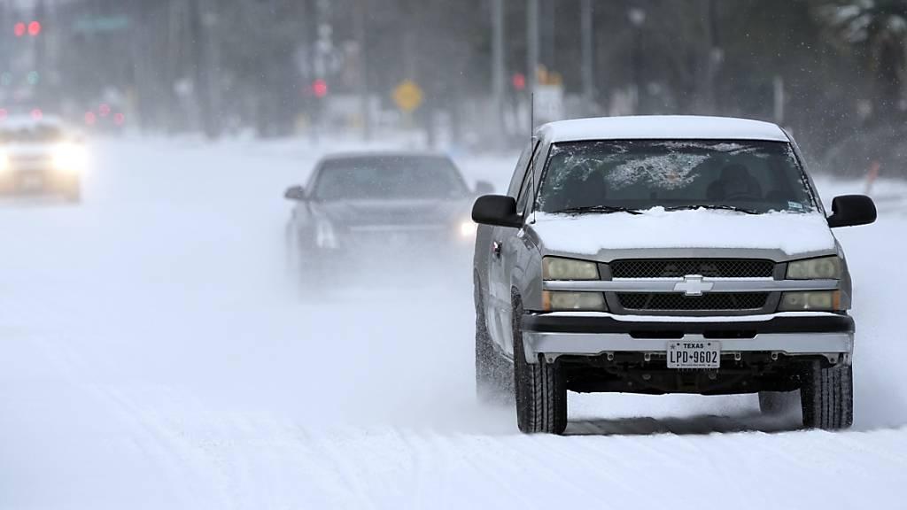 Millionen im US-Bundesstaat Texas wegen Winterwetter ohne Strom