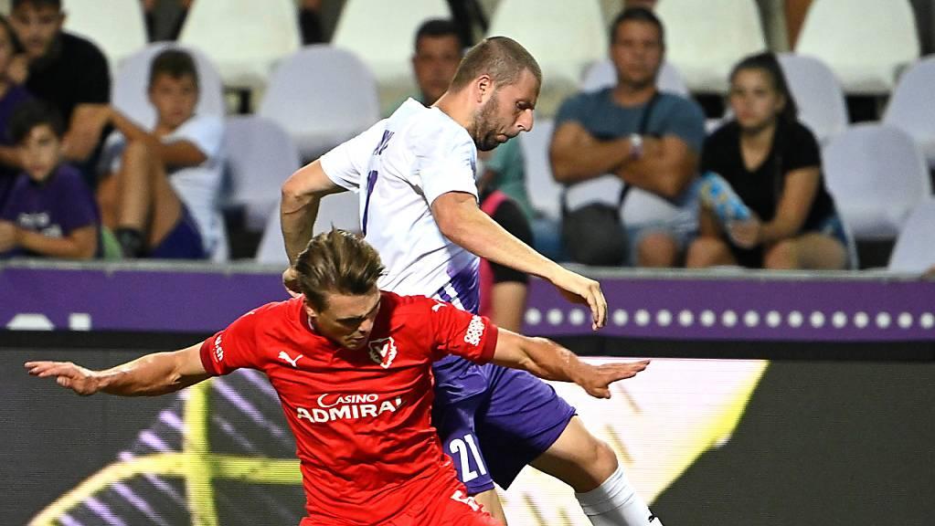 Joël Schmied will mit Vaduz nach dem Abstieg in der Challenge League sofort wieder auf die Füsse kommen und zurück in die höchste Spielklasse.