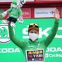 Sieg in der Etappe und neu Zweiter im Gesamtklassement: Primoz Roglic bleibt der Topfavorit auf den Sieg an der Vuelta
