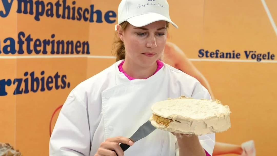 Stefanie Vögele backt Zurzibieter Torte