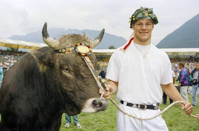 Schwingerkönig 1995, Chur, GR.