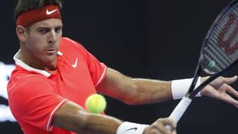 Spielt eine starke Saison: US-Open-Finalist Juan Martin Del Potro in Peking