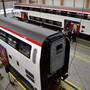 Neue IC-Züge im Werk Olten