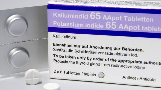 Die neue Packung Kaliumiodid 65 AApot Tabletten