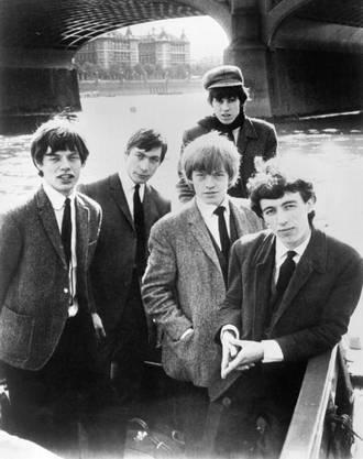 Als die Stones noch brave Bubis waren: 19964 auf einem Schiff. Von links: MIck Jagger, Charlie Watts, Brian Jones, Keith Richards und Bill Wyman.