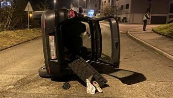 Verkehrsunfall in Wildegg