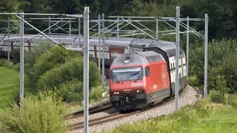Die Pläne des Bundes für die Bahninfrastruktur stossen nicht überall auf Begeisterung (Archiv)