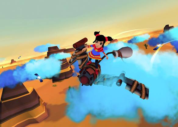In Cloud Chaser wird die Reise von Flüchtlingen erlebbar gemacht.