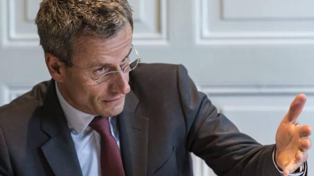 BASPO-Direktor Matthias Remund am Montag vor den Medien in Bern