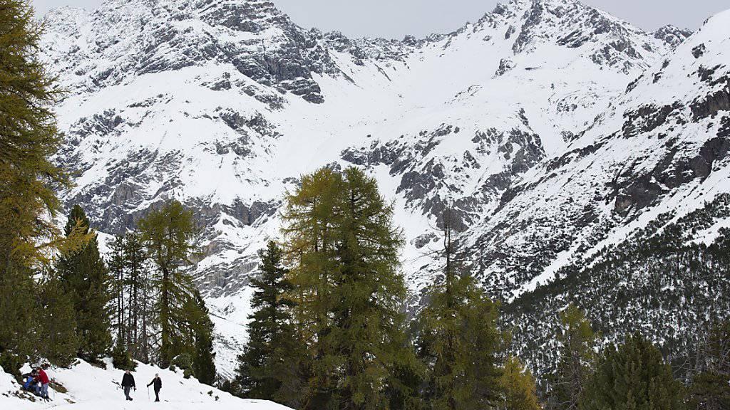 Die Schneefallgrenze sinkt am Donnerstag unter 1000 Meter. (Symbolbild)