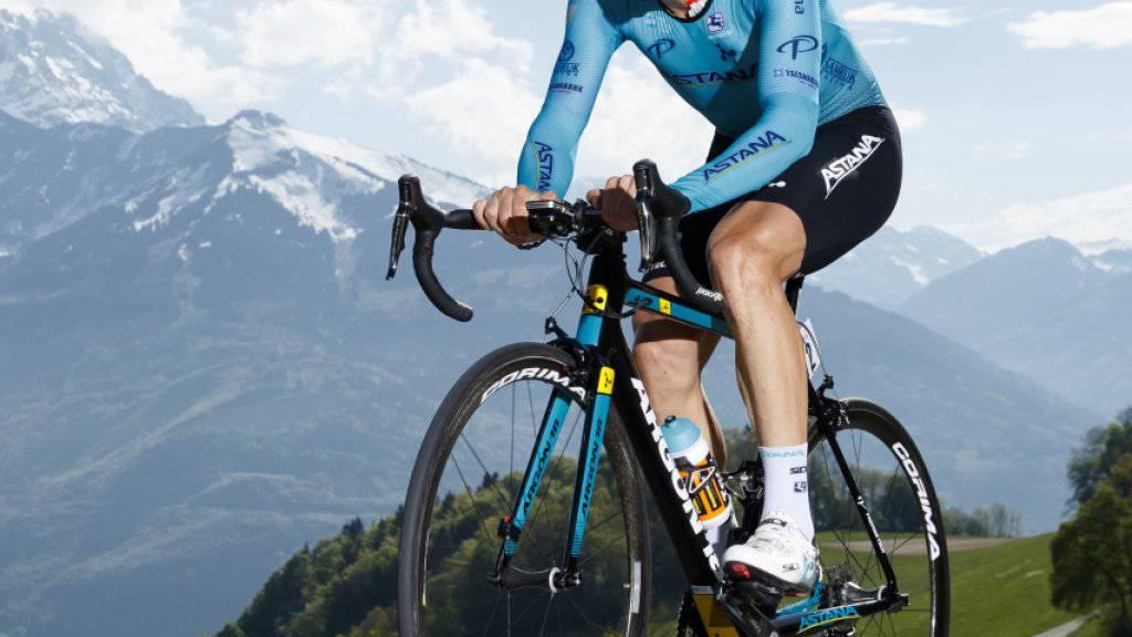 Dario Cataldo - im Bild während der Tour de Romandie 2018 - gewann in Como die 15. Etappe des Giro d'Italia