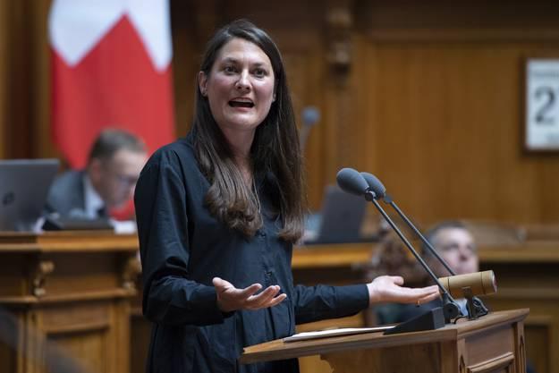 Die Fraktionschefin der Grünliberalen, Tiana Angelina Moser, schaffte den Sprung in den Ständerat nicht im ersten Wahlgang.
