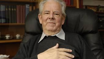 Eduard Rothen, hier kurz vor seinem 80.Geburtstag im Jahr 2005, musste in den 80er Jahren einen Stichentscheid fällen. (Archiv)
