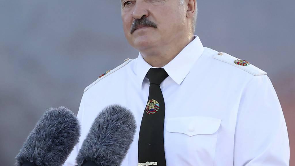 Alexander Lukaschenko, Präsident von Belarus.