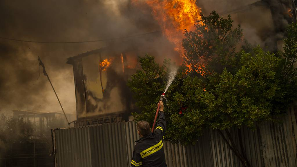 Griechenland in Flammen