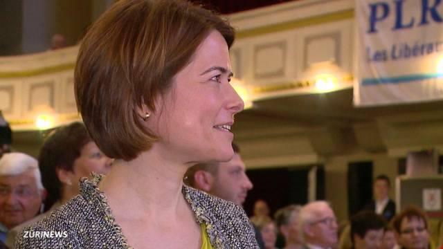 Petra Gössi ist FDP-Präsidentin