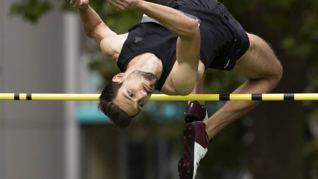 Hochspringer Loïc Gasch überspringt in Aarau 2,30 m