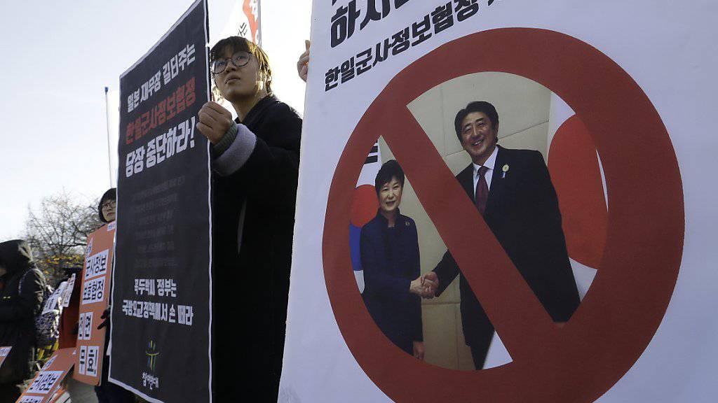 Nach den Protesten die Durchsuchungen: In Südkorea kommt Präsidentin Park immer stärker in Bedrängnis.