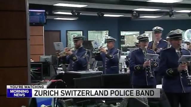 Zürcher Polizei-Musik im US-TV