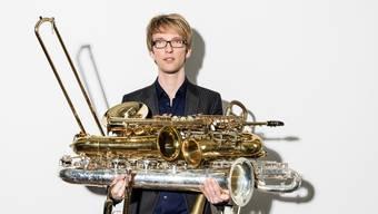 Raphael Jost (30) ist ein ausgezeichneter Pianist und Sänger. Lisa Zimmermann