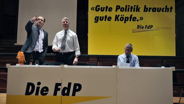 Tempi passati: FdP heisst die FDP nicht mehr, das Logo ist nun blau statt gelb. Gute Köpfe sucht die FDP heute als Mitglieder und nicht mehr als Sympathisanten.