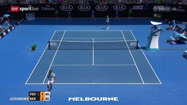 Tennis-Halbfinalknaller