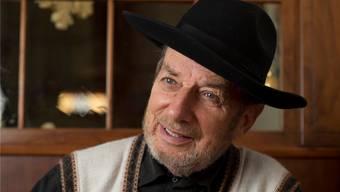 Der Gaucho-Hut, den er aus Argentinien mitgebracht hat, ist Willi Tanners Markenzeichen. Alex Spichale