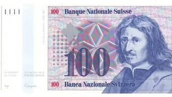 1984: Reserveserie der Schweizer 100er-Note