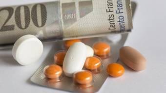 Nur 4,3 Prozent aller verkauften Medikamentenpackungen kosten mehr als 100 Franken.. (Symbolbild)